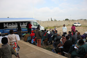 WARM WELCOME DURING 'RAF ON THE ROAD' JANE FURSE 6 June 2016